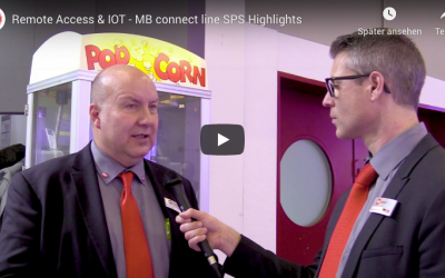 Remote Access and IOT – MB connect line Highlights at SPS IPC Drives 2018