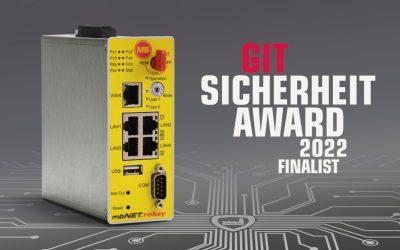 MB connect line ist Finalist beim GIT Sicherheit Award 2022 – Jetzt abstimmen!