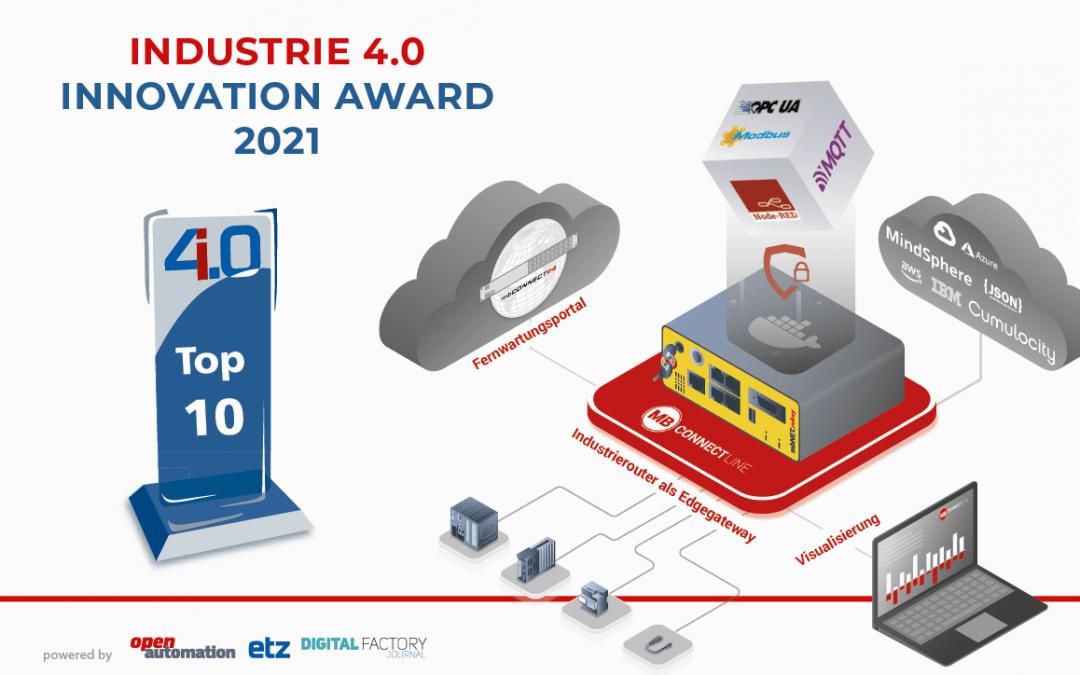 Industrie 4.0 Innovation Award – Wir sind unter den Top 10 – Jetzt abstimmen