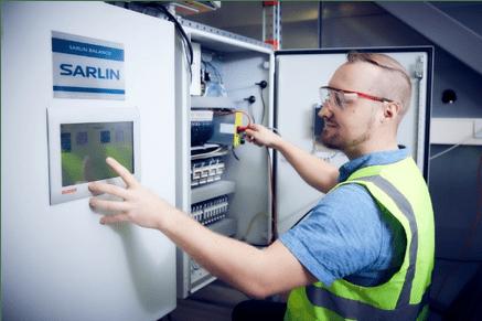 Sarlin optimizes compressed air energy bill